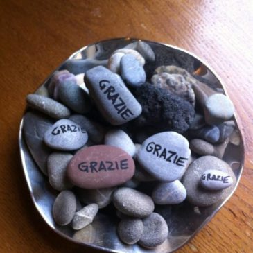 il sasso della gratitudine