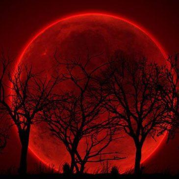 L'eclissi di luna del 27 luglio